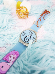 Colorful Vintage Swatch Watch | Pale Blue Swatch Watch Originals - Vintage Radar