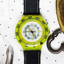 Load image into Gallery viewer, 1994 FLUOSCOPE SDJ900 Scuba Swatch | Vintage Swatch Watch - Vintage Radar