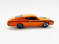 Hot Wheels '69 Mercury Cyclone | 2012 Mattel Orange Collectible Toy Car - Vintage Radar