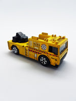 2006 Fire Engine Matchbox Collectible Toy Car | MBX Heroic Rescue Yellow Fire Truck - Vintage Radar