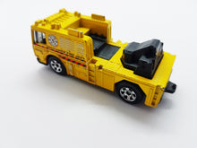 Load image into Gallery viewer, 2006 Fire Engine Matchbox Collectible Toy Car | MBX Heroic Rescue Yellow Fire Truck - Vintage Radar