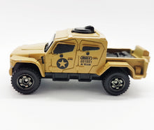 Load image into Gallery viewer, Matchbox MBX Toy Truck Mb888 | Beige Military Extreme Truck Mattel Army Toy Truck - Vintage Radar