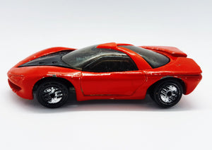 1989 Pontiac Banshee Hot Wheels Red Sports Car | Die-Cast Miniature Gift Car - Vintage Radar