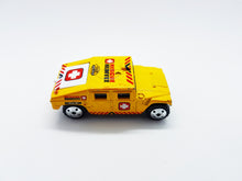 Load image into Gallery viewer, 1994 Yellow Matchbox Hummer Rescue Humvee| Mattel Special Edition Toy Car - Vintage Radar