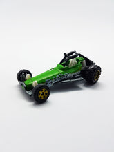 Load image into Gallery viewer, Green Dune Buggy 2006 Matchbox Die Cast Toy | MBX Explorers Vintage Miniature Sports Car - Vintage Radar
