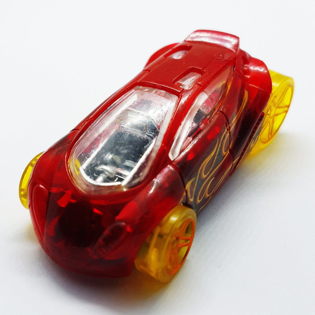 Vendetta 2015 Hot Wheels Red Miniature Toy Car | HW Race X-Racers Toy Collection - Vintage Radar