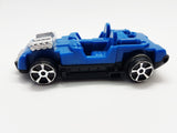 Made For McDonald's 2017 Hot Wheels | Happy Meal Collectible Blue Race Car - Vintage Radar