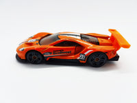 Orange Ford GT Race 2016 Hot Wheels | Vintage Toy Supercar - Vintage Radar