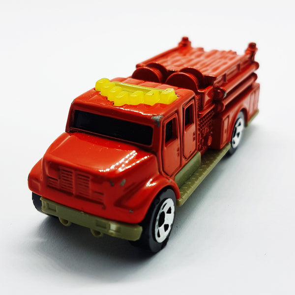 2002 Matchbox International Pumper Fire Truck | McDonald's Happy Meal Toy Cars - Vintage Radar