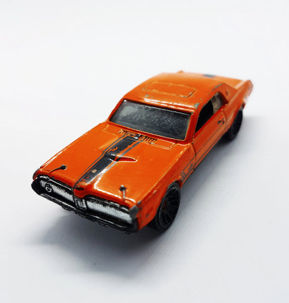 '68 Mercury Cougar Hot Wheels Diecast Car | 2012 HW Muscle Mania Series - Vintage Radar