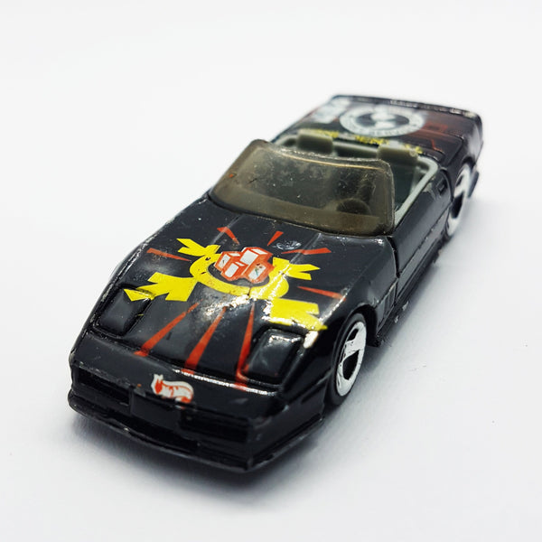 Vintage Hot Wheels Corvette Convertible | 1988 Mattel Secret Service Rare Toy Car - Vintage Radar