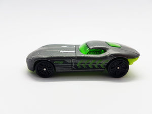 Fast Felion 2008 Hot Wheels Toy Car | Gray Vintage Miniature Car - Vintage Radar