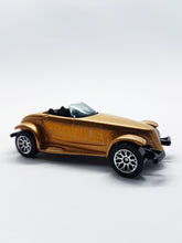 Load image into Gallery viewer, RARE Matchbox Chrysler Antique Toy Car | Metallic Gold 1995 Plymouth Prowler - Vintage Radar