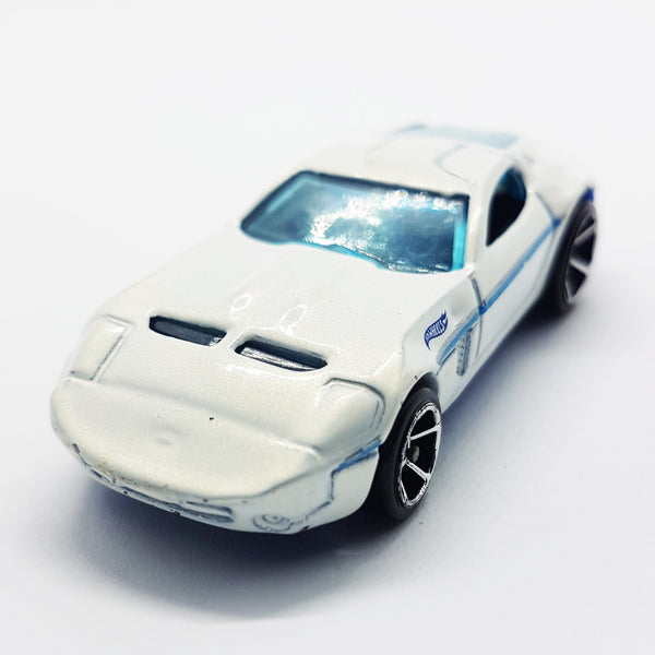 Ford Shelby GR-1 Concepts Hot Wheels Toy Car | White and Blue Mystery Models Series - Vintage Radar