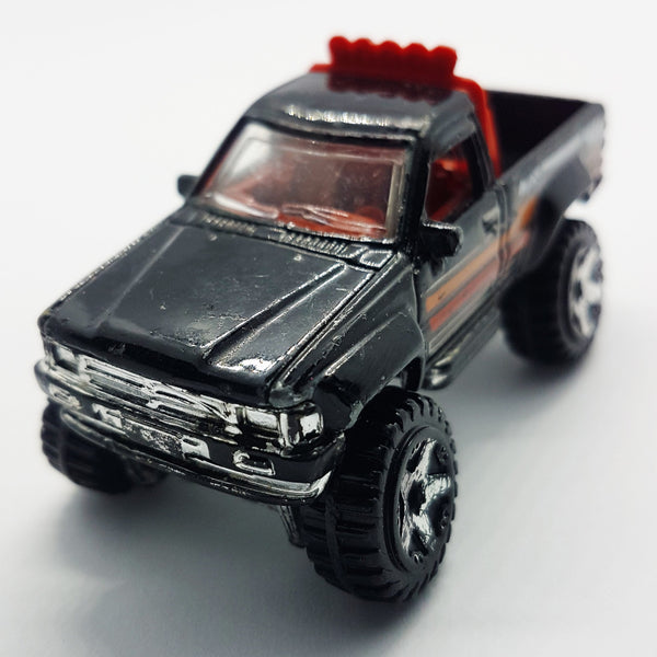 Black 1987 Hot Wheels Toyota Pickup Truck | Rare Collectible Car - Vintage Radar
