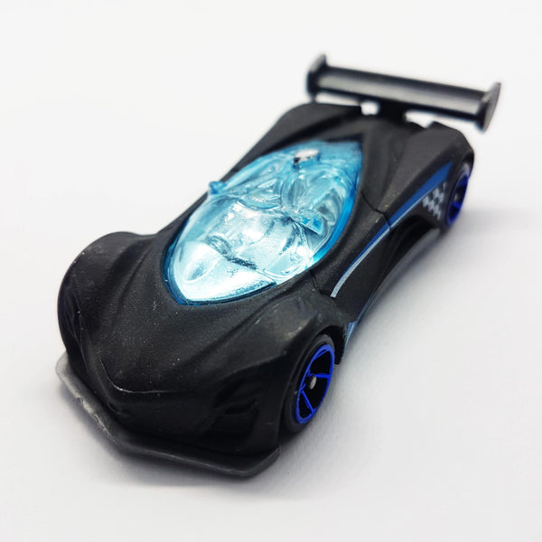 Hot Wheels 2013 Mazda Furai Miniature Car | Black Die Cast Mattel Toy - Vintage Radar