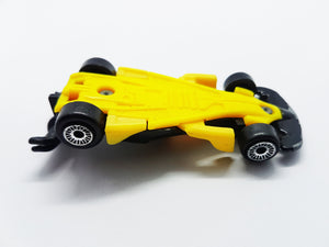 Black and Yellow Hot Wheels 2002 Antique Car Toy | McDonald's Happy Meal Toy - Vintage Radar