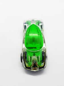 Green Phantasm Hot Wheel Collectible Car | Vintage Skeleton Mattel Toy Car - Vintage Radar