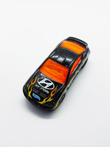 Hyundai Tiburon 2002 Hot Wheels Racing Car | Mattel Miniature Vintage Toy Car - Vintage Radar