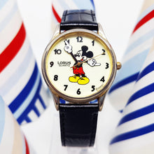 Load image into Gallery viewer, Lorus Glow In The Dark Disney Watch | Mickey Mouse Vintage Watch For Men - Vintage Radar