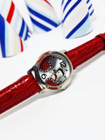 Betty Boop Character Watch | Red Vintage Gift Watch For Women - Vintage Radar