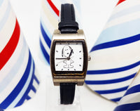 Snoopy Peanuts United Feature Syndicate, Inc | Square Character Vintage Watch For Men - Vintage Radar