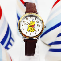 Seiko Winnie the Pooh Original Disney Watch |  Rotating Bees Vintage Quartz Watch - Vintage Radar