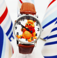 Disney Winnie The Pooh Vintage Watch | Walt Disney World Watch For Men And Women - Vintage Radar