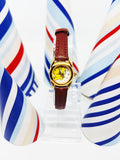 Tiny Armitron Ladies Watch | Hipster Tweety Looney Tunes Watch for Women - Vintage Radar