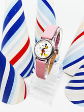 Load image into Gallery viewer, Lorus Quartz V811-0150 Mickey Mouse Watch with Pink Strap | 90s Watch - Vintage Radar
