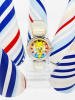 Yellow Tweety Looney Tunes Watch For Women | Armitron Character Vintage Watch - Vintage Radar
