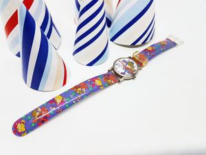 The Adventures of Shirley Holmes Cartoon Watch | Vintage Character Watch For Men And Women - Vintage Radar