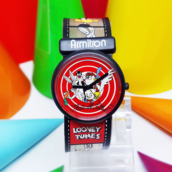 Ultra RARE Armitron Looney Tunes Characters Watch | 90s Vintage Watch