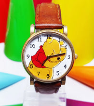 Load image into Gallery viewer, Colorful Winnie The Pooh Watch for Men and Women | Walt Disney Watch By Timex - Vintage Radar