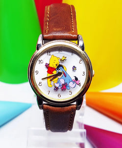 Seiko Winnie The Pooh and Eeyore Vintage Watch | Rare Friendship Gift - Vintage Radar