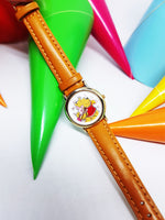 Winnie The Pooh and Piglet Vintage Watch | Fun Friendship Gift Watch - Vintage Radar