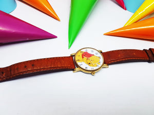 Colorful Winnie The Pooh Watch for Men and Women | Walt Disney Watch By Timex - Vintage Radar