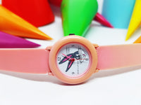 "Bugs Bunny Pink Vintage Watch for women | Small Warner Bros ""What's up doc'?"" Character Watch - Vintage Radar"