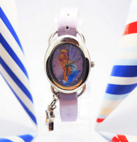 Tinkerbell Fairy Disneyland Watch | Purple Disney Vintage Watch for Women - Vintage Radar