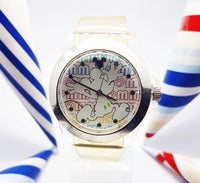 Sporty Mickey Mouse Disney Watch | Disneyland Park Authentic Vintage Watch - Vintage Radar