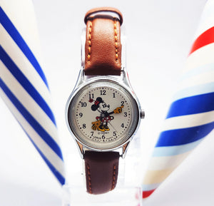 Lorus Minnie Mouse Quartz Watch | Disney Retro Watch For Ladies - Vintage Radar