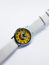 Load image into Gallery viewer, Yellow SpongeBob Fun Character Watch | Funny Anniversary Gift Watch - Vintage Radar