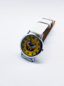 Yellow SpongeBob Fun Character Watch | Funny Anniversary Gift Watch - Vintage Radar