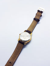 Load image into Gallery viewer, Seiko Winnie The Pooh Watch | 90s Gold-Tone Vintage Character Quartz Watch - Vintage Radar