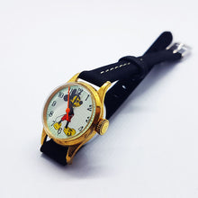 Load image into Gallery viewer, Mechanical Mickey Mouse Disney Watch | Tiny Antique Swiss Made Ladies Watch - Vintage Radar