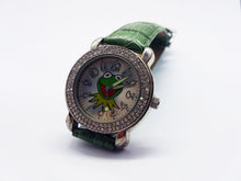 Load image into Gallery viewer, Green Kermit The Frog Disney Watch | Th Muppets Silver-Tone Vintage Watch - Vintage Radar