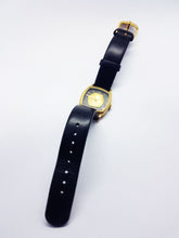 Load image into Gallery viewer, Elegant Black and Gold Lion King Watch | RARE Disney Wedding Watch - Vintage Radar