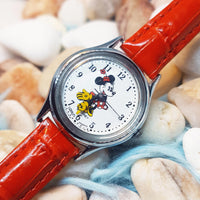 Lorus Minnie Mouse Disney Watch | Colorful Fashion Vintage Watch - Vintage Radar