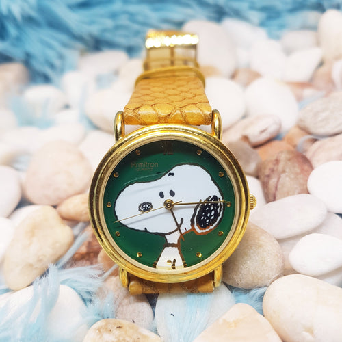 Armitron Snoopy Vintage Watch  | 1958 UFS. INC Unisex Watch - Vintage Radar