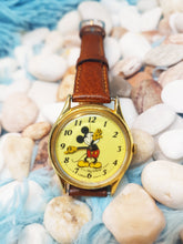 Load image into Gallery viewer, Vintage Lorus Mickey Mouse Watch | Gold-Tone Disney Quartz Watch - Vintage Radar